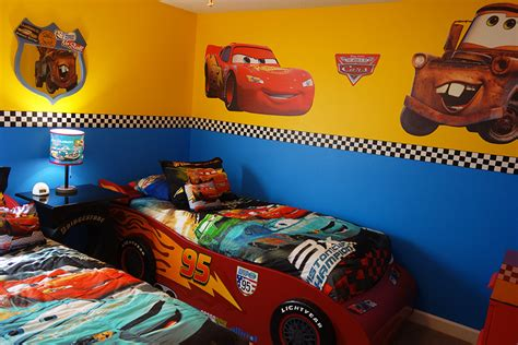SunKissed Villas   SunKissed Villas   ChampionsGate Resort   Disney Cars Bedroom