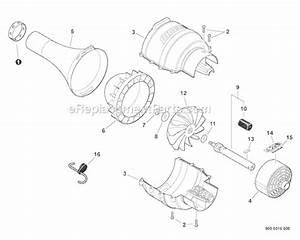 Echo Pas-225 Parts List And Diagram