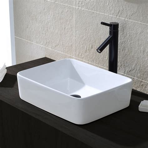 comllen  counter white porcelain ceramic bathroom