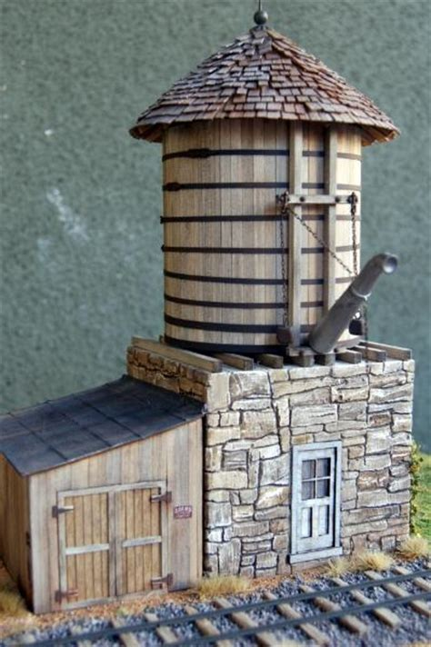 morgan hill models on30 stone water tank