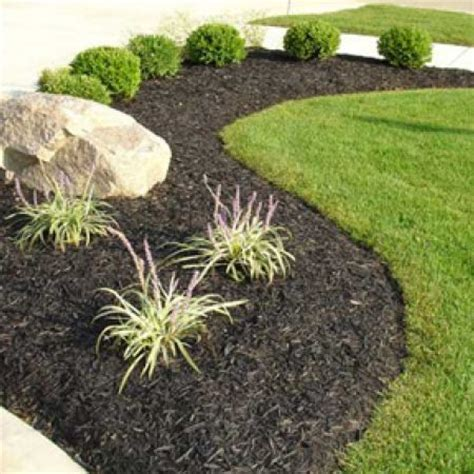 when to mulch flower beds in photos the many types of landscape mulch
