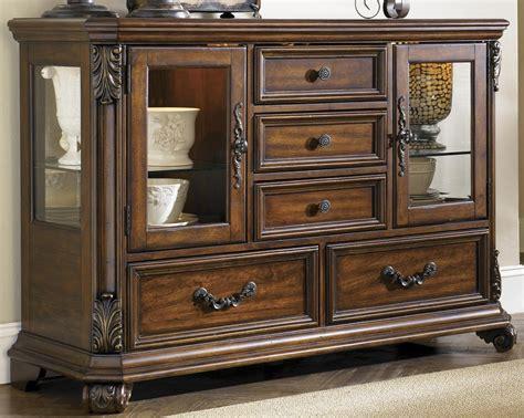 furniture added storage  workspace  buffet server
