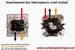 Interrupteur Volet Roulant : branchement cablage interrupteur volet roulant alibadra ~ Melissatoandfro.com Idées de Décoration