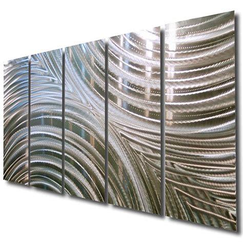 Ebay Wall Decor Metal by Metal Wall Sculpture By Jon Allen Handmade Silver