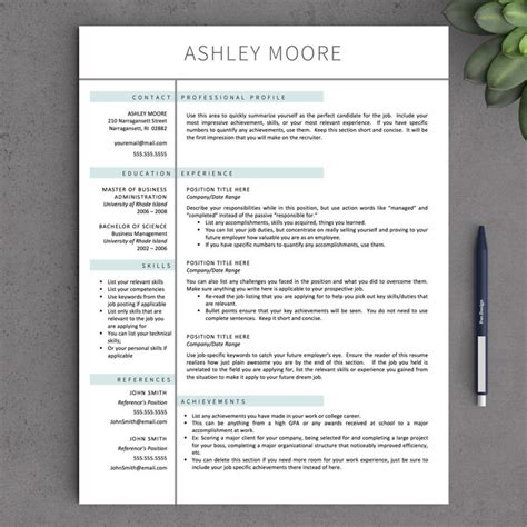17 best ideas about resume template free on