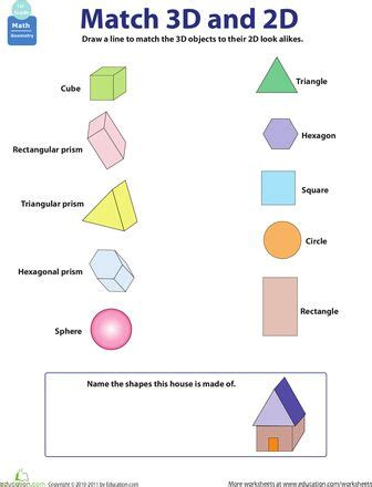 one to one correspondence definition preschool 2d and 3d shapes homeschool stuff math 864