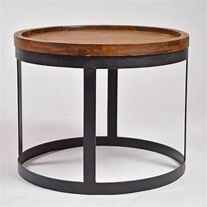 Beistelltisch Schwarz Holz : beistelltisch metall und holz icnib ~ Orissabook.com Haus und Dekorationen
