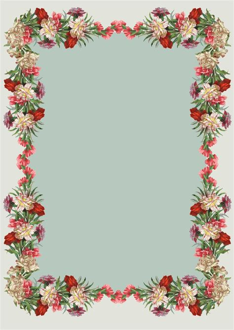 christmas planner printables free printable vintage flower stationery ausdruckbares