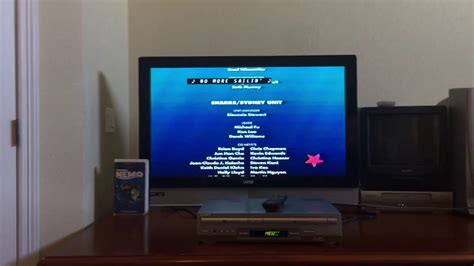 Closing To Finding Nemo 2003 Vhs