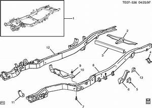 Chevrolet S10 Bracket  Shock Absorber Frame  Bracket  Rr S