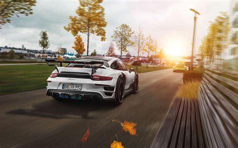 2017 Porsche 911 Turbo Gt Street R Techart Wallpapers Hd