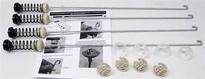 Suspension Kit For W10780048 Whirlpool Kenmore Washing