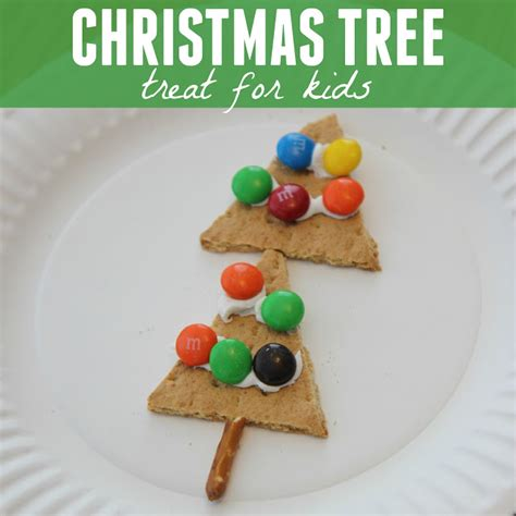 christmas snacks for preschool toddler approved simple tree treat for