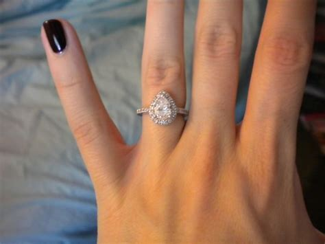 pear halo engagement ring i am in love with this it s