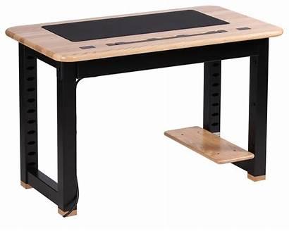 Shelf Desk Loft Ash Desks Place Printer