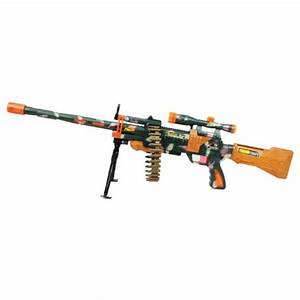 "38""(96cm) Sniper Rifle Machine Gun Toy with Revolving ..."