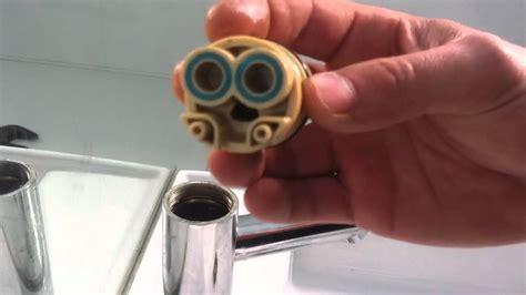 repair  leaking flick mixer tap youtube