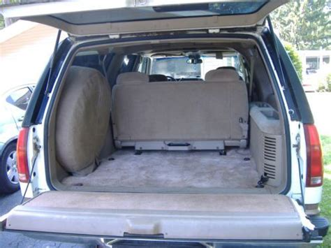 car maintenance manuals 1996 chevrolet suburban 1500 seat position control buy used 1996 chevrolet suburban 1500 4wd vortec 5700 v8 w 3rd row bench 2 hitches in