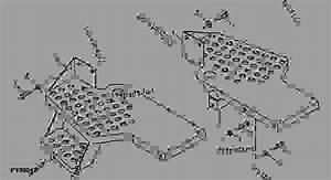 Footrests   - Xxxxxx  - Tractor John Deere 5203