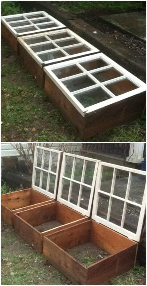 Looking for easy diy crafts using old windows? 80+ DIY Greenhouse Ideas with Step-by-Step Tutorials ...