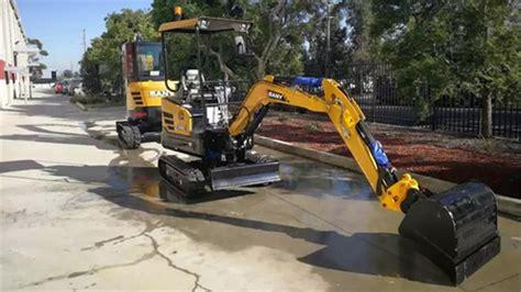 sany mini excavators    tool   job machinery trader blog