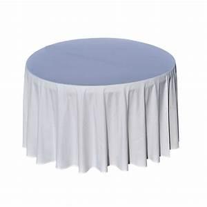 Nappe De Table Ronde : nappe pour table ronde nappe pour table ronde 178 nappe pour table ronde diam 290 cm location ~ Teatrodelosmanantiales.com Idées de Décoration