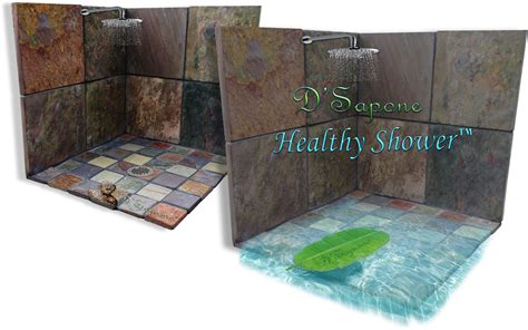 healthy shower d sapone restoration slate d sapone before