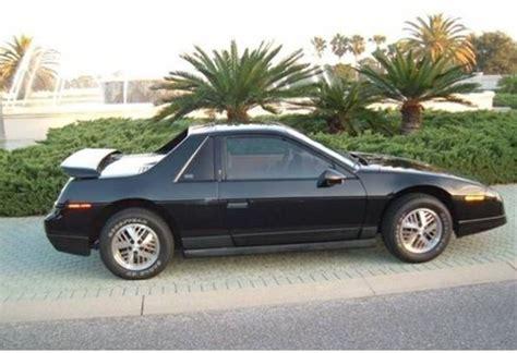 Pontiac Fiero Se by 1986 Pontiac Fiero Se V6 For Sale