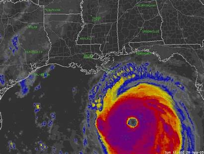 Katrina Hurricane Satellite Gifs Landfall Weather Giphy