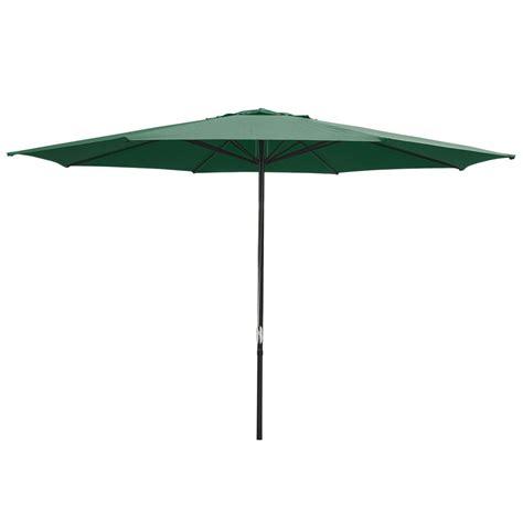 13 foot patio furniture table market umbrella green