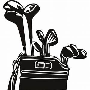 Golf club golf bag clipart - Clipartix