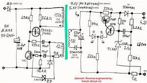 reverse engineered schematics With redstone circuit cz