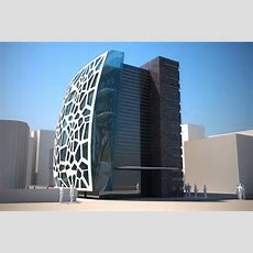 Office Building  Cube Concept
