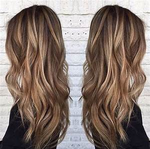 Hellbraune Haare Mit Blonden Strähnen : die besten 25 braun blonde haare ideen auf pinterest braune haare blonde highlights ~ Frokenaadalensverden.com Haus und Dekorationen