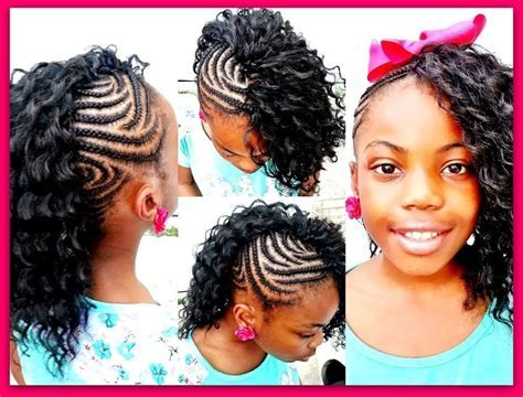 Mohawk Braids For Kids   Braiding Hairstyle Pictures