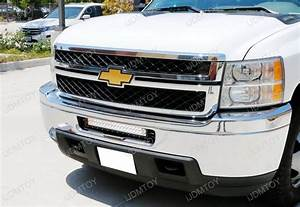 120w Strobe Led Light Bar For Chevrolet 2500hd 3500hd
