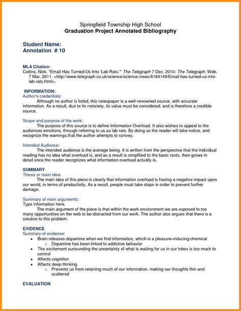 Annotated Bibliography Template Essay Research Paper Addiction With