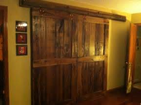 barn doors   bedroom closet household ideas