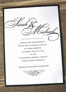 elegant wedding invitations formal wedding invites With pictures of formal wedding invitations
