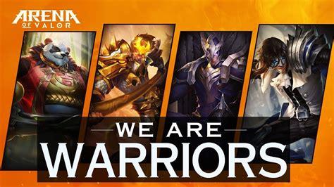aov heroes warrior samurai gamers