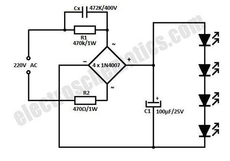 ac powered 220v led circuit electronics in 2019 led