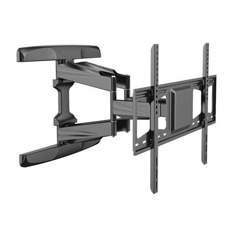 tv on wall mount loctek motion tv wall mount articulating tv bracket