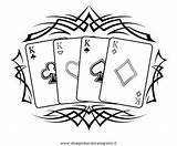 Poker Coloring Disegno Misti Colouring Colorare Disegni Drawings Condividi Designlooter Disegnidacoloraregratis sketch template