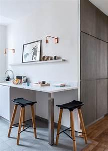 Table Cuisine Petit Espace : table de cuisine pour petit espace gallery of amnager une petite cuisine with table de cuisine ~ Teatrodelosmanantiales.com Idées de Décoration