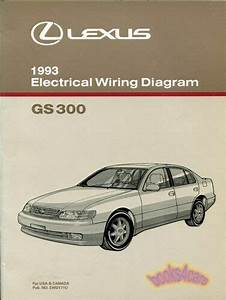Shop Manual Gs300 1993 Lexus Electrical Wiring Diagram