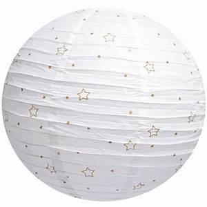 Suspension Boule Japonaise : boule japonaise toiles blanche par domiva ~ Teatrodelosmanantiales.com Idées de Décoration