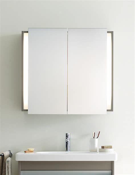 Duravit Bathroom Mirrors by Duravit Ketho Graphite Matt 1000mm Mirror Cabinet