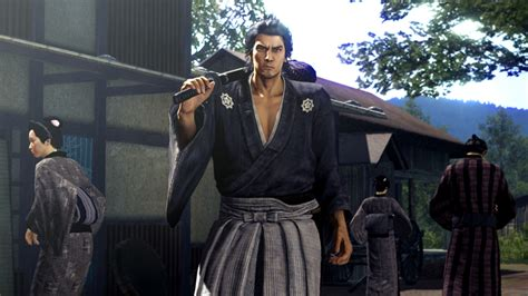 yakuza ishin website launches  story details