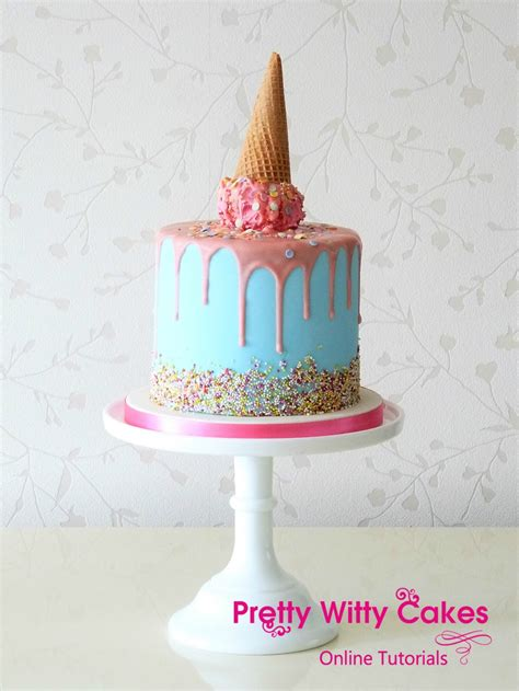 drip cake masterclass  cake decorating tutorials