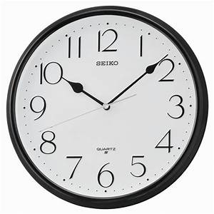 Horloge Murale Ronde Seiko QXA651KT Cadran Blanc Aiguilles
